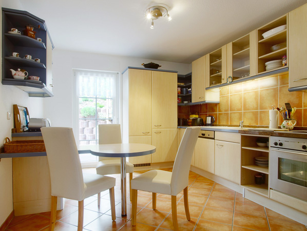 Beispiel Immobilienfotografie Küche