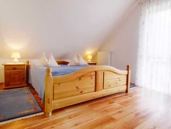 Beispiel Immobilienfotografie Schlafzimmer