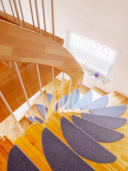 Beispiel Immobilienfotografie Treppe