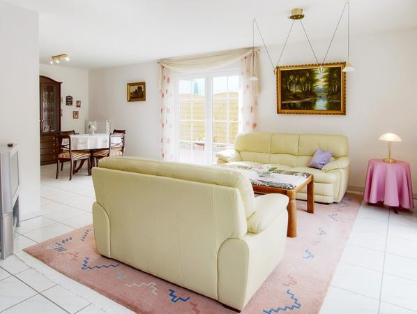 Beispiel Immobilienfotografie Wohnzimmer 1